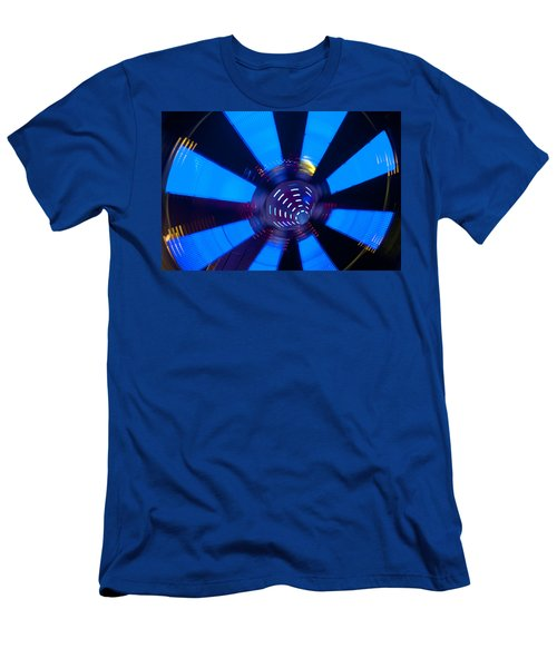 Fairground Abstract Vi Men's T-Shirt (Slim Fit) by Helen Northcott
