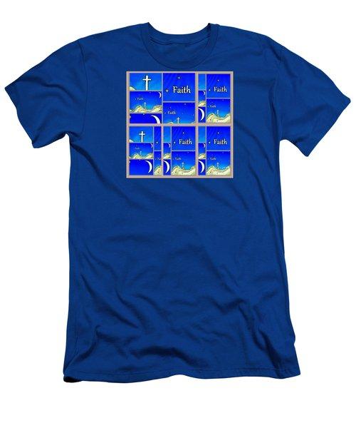 Faith 6 Men's T-Shirt (Athletic Fit)