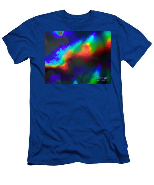 Heavenly Lights Men's T-Shirt (Athletic Fit)