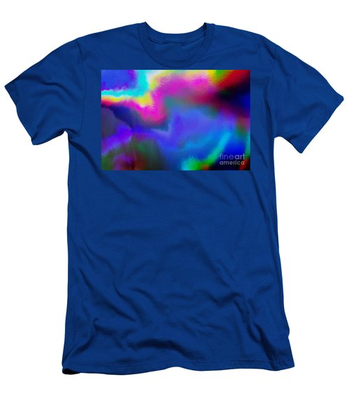 Summer Lights Men's T-Shirt (Athletic Fit)
