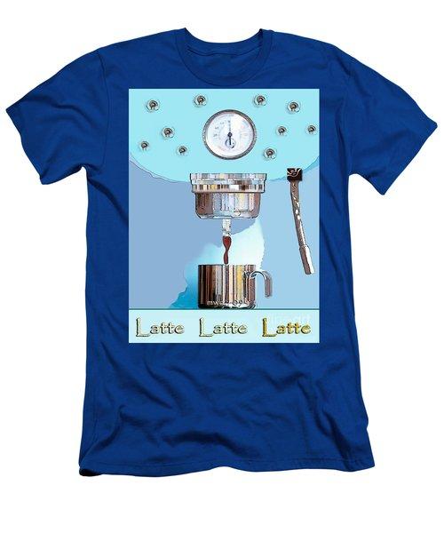 Fantasy Espresso Machine Men's T-Shirt (Slim Fit) by Marian Cates