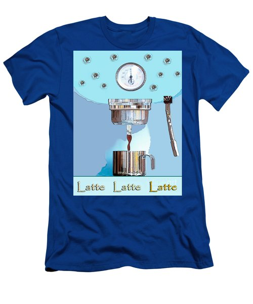 Fantasy Espresso Machine Men's T-Shirt (Athletic Fit)