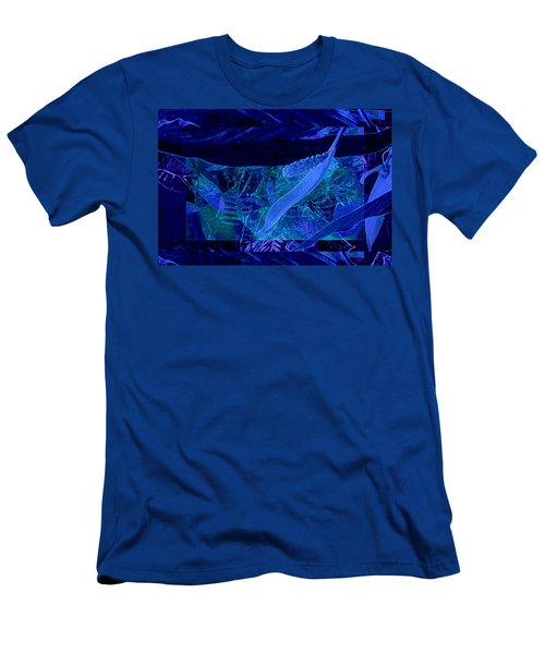 Fantasy With African Violets And Peace Lily 40 Men's T-Shirt (Athletic Fit)