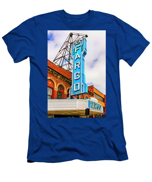 Fargo Theater Sign Men's T-Shirt (Athletic Fit)