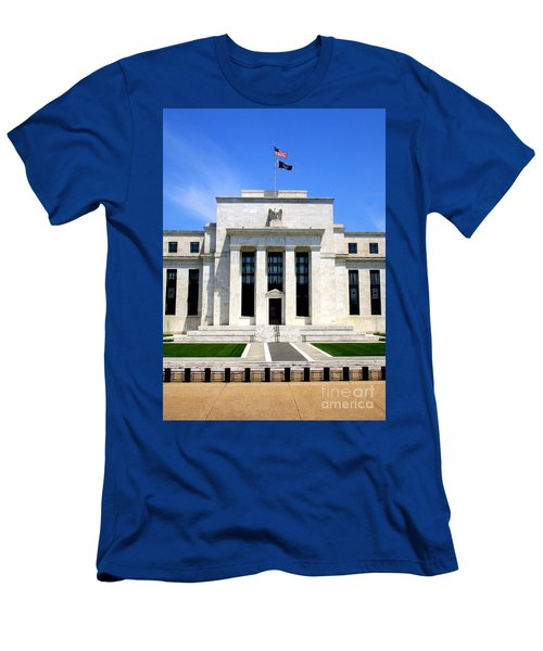 Federal Reserve Men's T-Shirt (Athletic Fit)