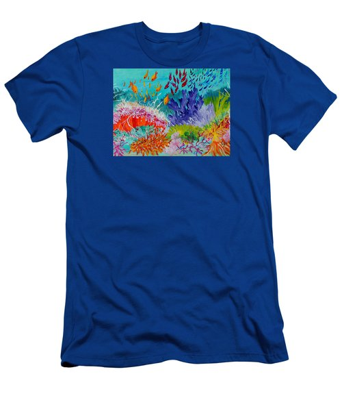 Feeding Time On The Reef #2 Men's T-Shirt (Athletic Fit)