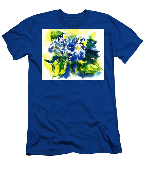 First Hydrangea Men's T-Shirt (Athletic Fit)