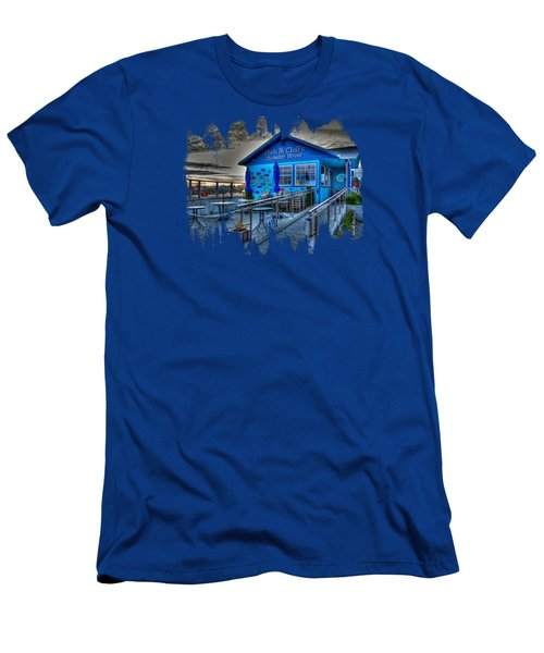 Fish And Chips Chowder House Men's T-Shirt (Athletic Fit)