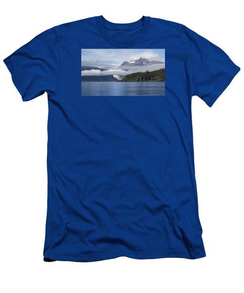 Fishing In Southeast Alaska Men's T-Shirt (Slim Fit) by Michele Cornelius