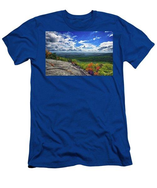 Flat Rock Vista Men's T-Shirt (Athletic Fit)