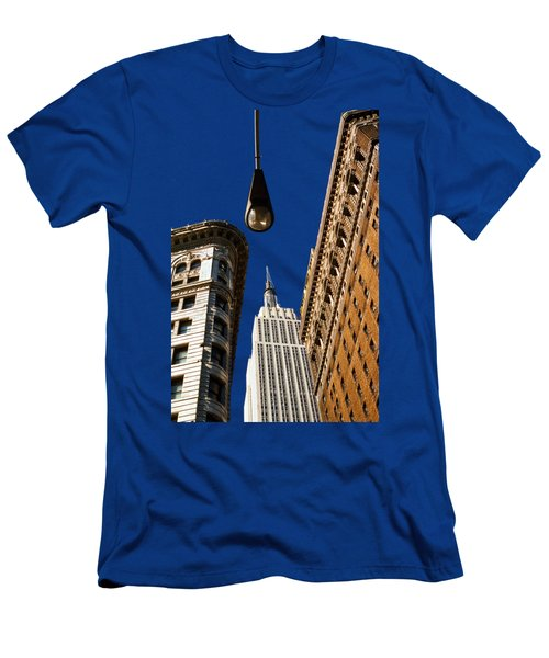 Flatiron District Men's T-Shirt (Slim Fit) by Paul Lamonica