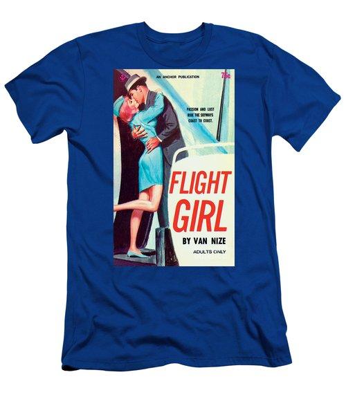 Flight Girl Men's T-Shirt (Athletic Fit)