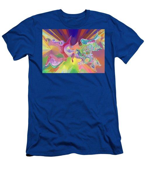 Flight Of Evolution Men's T-Shirt (Athletic Fit)