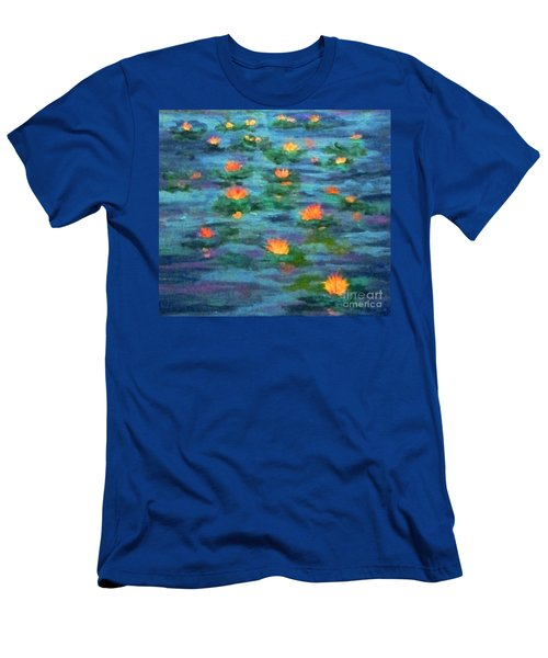 Floating Gems Men's T-Shirt (Slim Fit) by Holly Martinson