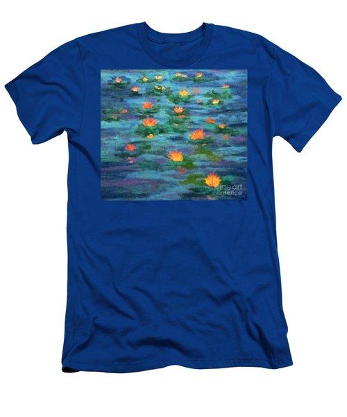 Floating Gems Men's T-Shirt (Athletic Fit)