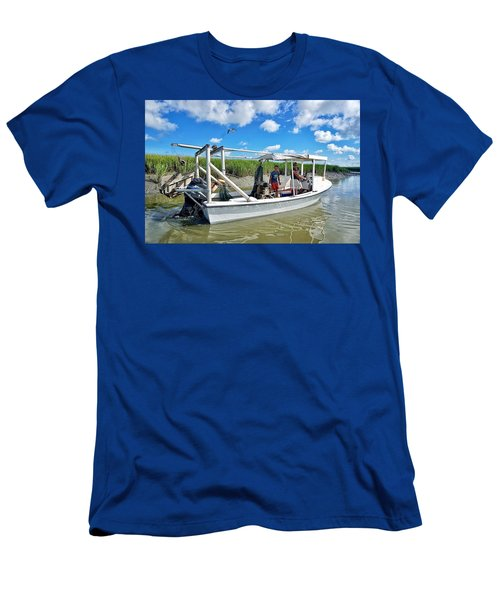 Floating On Shallow Water Men's T-Shirt (Athletic Fit)