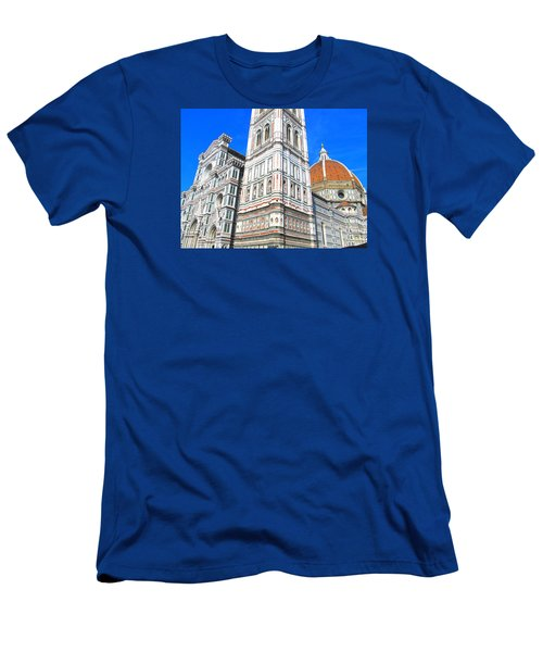 Florence Duomo Cathedral Men's T-Shirt (Slim Fit) by Lisa Boyd