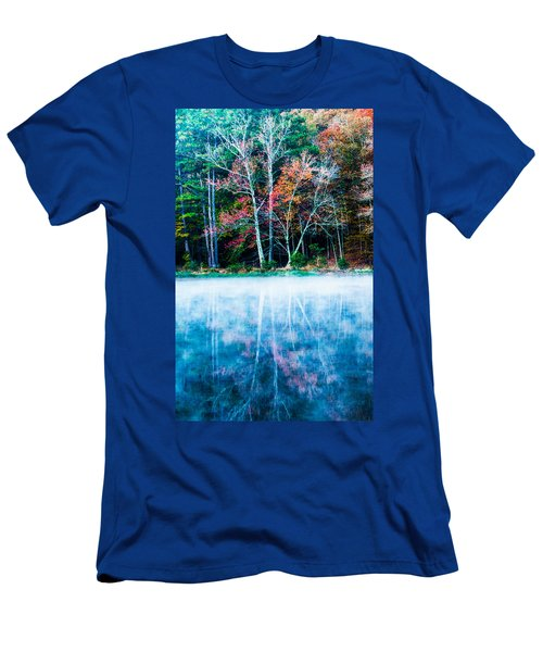 Fog On The Lake Men's T-Shirt (Athletic Fit)