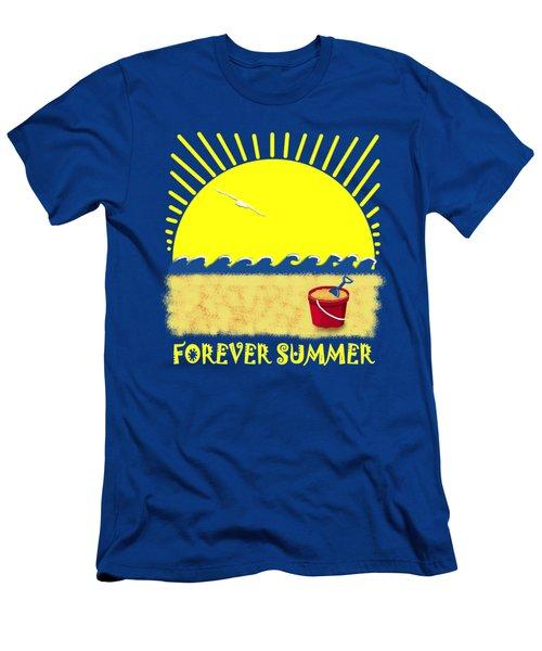 Forever Summer 8 Men's T-Shirt (Athletic Fit)
