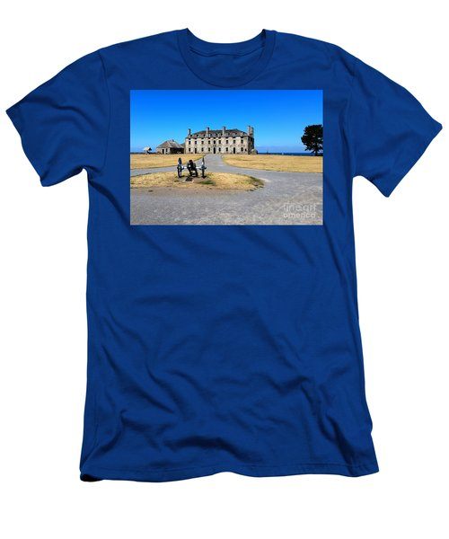 Men's T-Shirt (Slim Fit) featuring the photograph Fort Niagara  by Raymond Earley