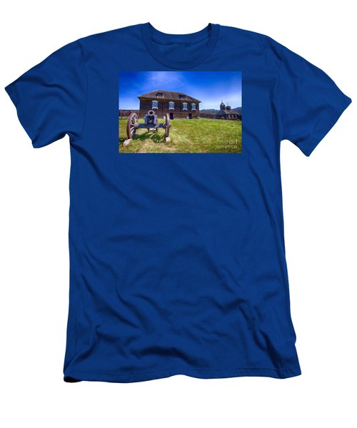 Men's T-Shirt (Slim Fit) featuring the photograph Fort Ross State Historic Park by Jason Abando