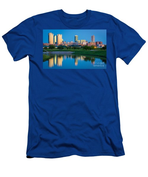 Fort Worth Mirror Men's T-Shirt (Athletic Fit)