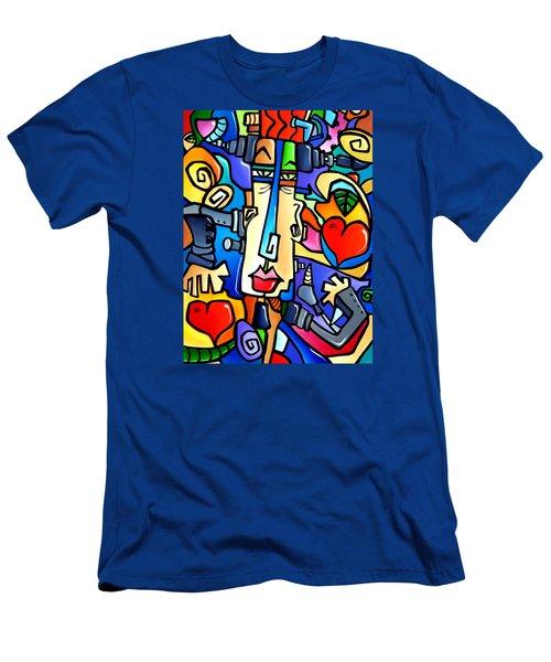 Frank Men's T-Shirt (Slim Fit) by Tom Fedro - Fidostudio