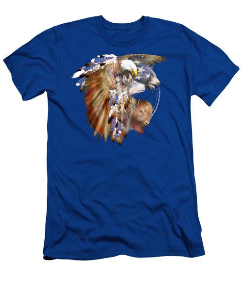 Freedom Lives Men's T-Shirt (Athletic Fit)