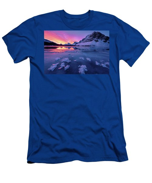 Fresh Ice On Bow Lake Men's T-Shirt (Athletic Fit)