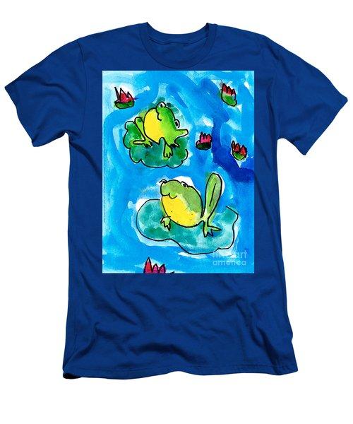Frogs Men's T-Shirt (Athletic Fit)