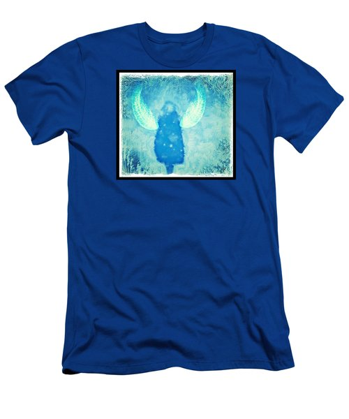 Frosted Angel Men's T-Shirt (Athletic Fit)