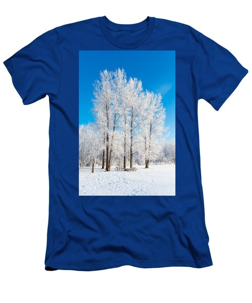 Frosty Wonderland Men's T-Shirt (Athletic Fit)