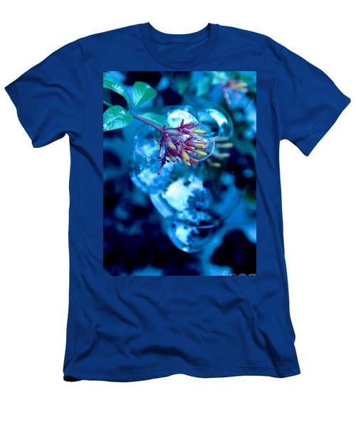 Men's T-Shirt (Slim Fit) featuring the photograph Frozen In Time by Irma BACKELANT GALLERIES