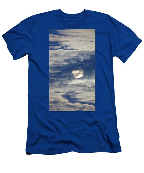 Full Moon In Gemini With Clouds Men's T-Shirt (Athletic Fit)