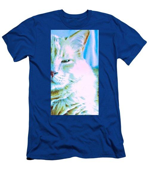 Gandhi Lion Men's T-Shirt (Athletic Fit)