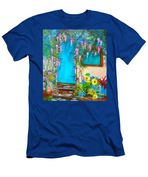 Garden Secrets - Wisteria Men's T-Shirt (Athletic Fit)