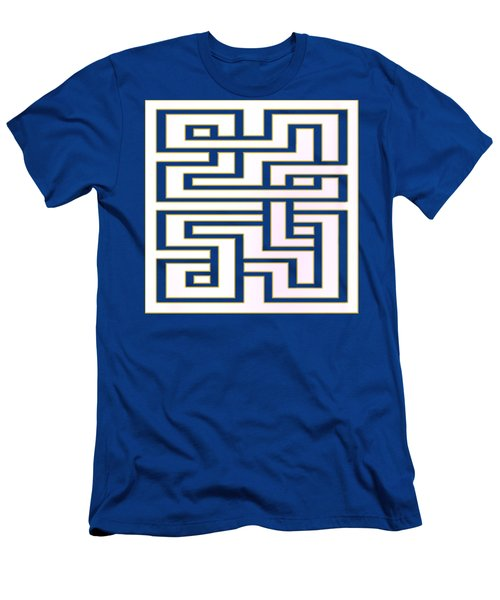 Geo 7 - Transparent Men's T-Shirt (Slim Fit) by Chuck Staley