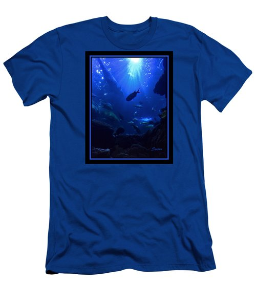 Men's T-Shirt (Slim Fit) featuring the photograph Getting Along by Steven Lebron Langston