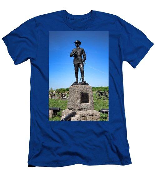 Gettysburg National Park Major General John Buford Memorial Men's T-Shirt (Athletic Fit)