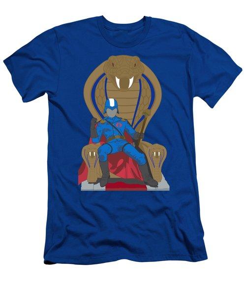 Gi Joe - Cobra Commander Men's T-Shirt (Athletic Fit)