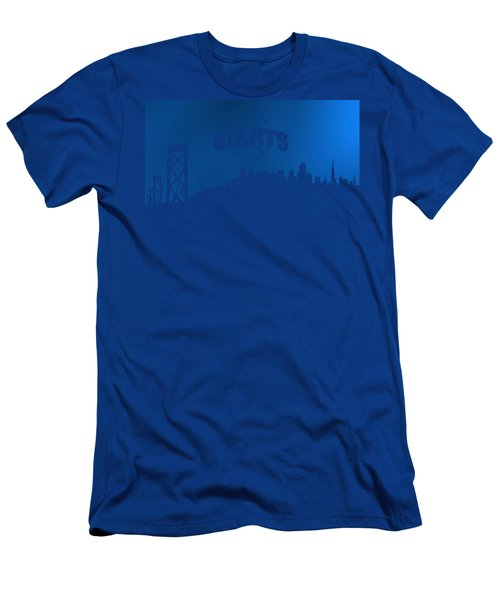 Giants Of San Francisco Men's T-Shirt (Athletic Fit)