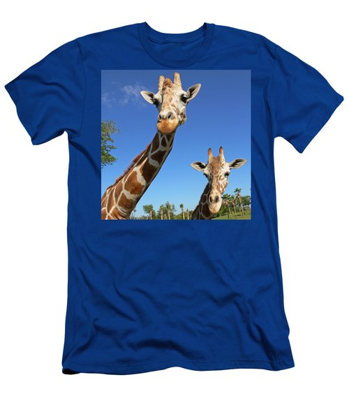 Giraffes Men's T-Shirt (Athletic Fit)