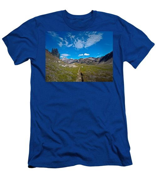 Glacier Wilderness Men's T-Shirt (Athletic Fit)