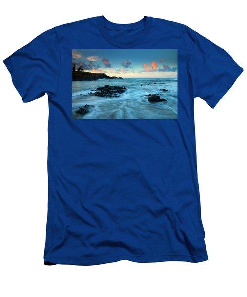 Glass Beach Dawn Men's T-Shirt (Athletic Fit)