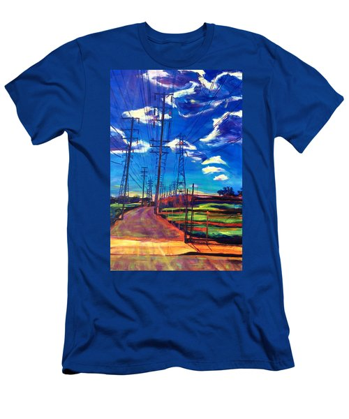 Glorious Afternoon Men's T-Shirt (Slim Fit) by Bonnie Lambert