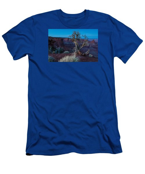 Men's T-Shirt (Slim Fit) featuring the photograph Gnarled by Paul Noble