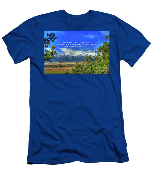 God's Majestic Creation Men's T-Shirt (Athletic Fit)