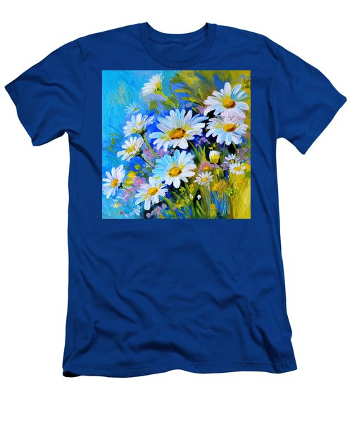God's Touch Men's T-Shirt (Slim Fit) by Karen Showell