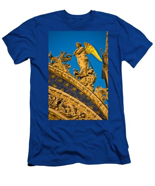 Golden Angel Men's T-Shirt (Slim Fit) by Harry Spitz