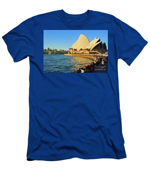 Golden Hour Opera By Kaye Menner Men's T-Shirt (Athletic Fit)